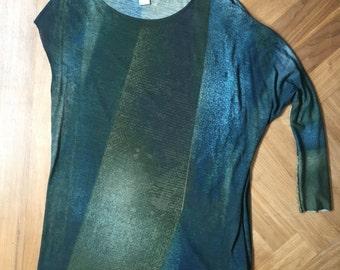 Retro Designer Tunic Top