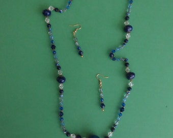 Handmade Necklace & Earring Set - Item #6-028