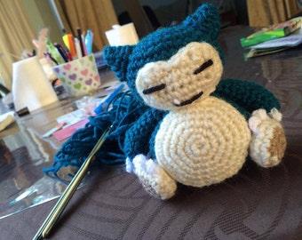 Snorlax Crochet Pattern