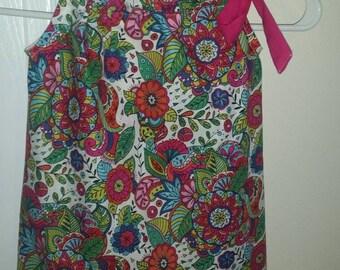 Girls pillowcase dress