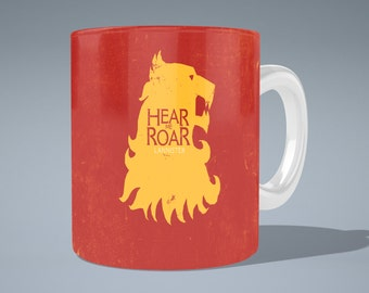 Game of Thrones House Lannister Mug