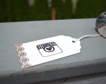 instagram symbol gift tags