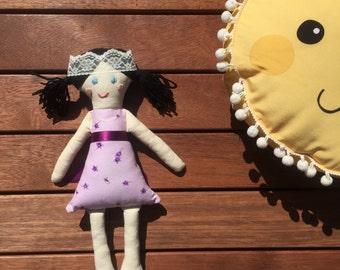 Princess Remi- Handmade Clothdoll