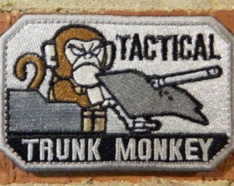 Tactical Trunk Monkey Morale/Tactical Velcro Patch