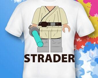 Star Wars Shirt. Luke Skywalker Shirt. Star Wars gift. star wars costume. star wars birthday