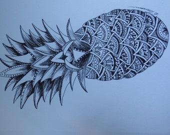 Aztec Pineapple