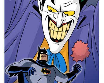 Joker - Batman: The Animated Series Limited Edition Art Print 1