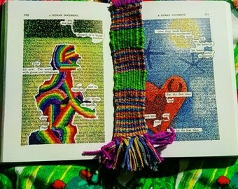 Bespoke Bookmark. Handmade and posted in 2 days!