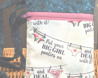 Small K.I.S.S. Wallet on a String - Big Girl Panties