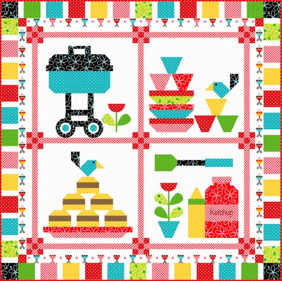 Cookout Quilt Pattern