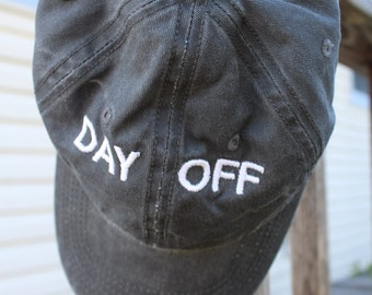 DAY OFF Gray Hat
