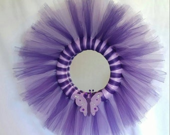 Butterfly Reflections - Tulle Mirror