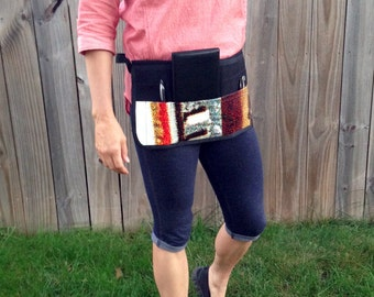 SALE 20% OFF Server/Cosmetologist Apron - Upcycled Billboard