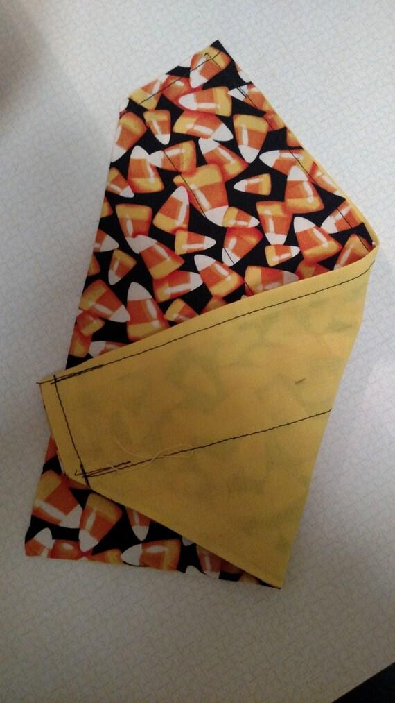 Candy corn over collar bandana