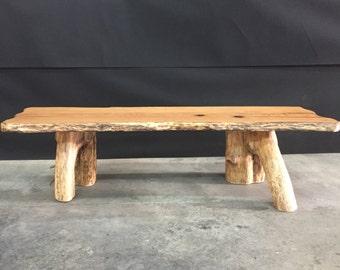 Oak Slab Dining Table