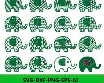 60 % OFF, Elephant SVG, Elephant SVG File, Elephant Pattern svg, svg, png, eps, dxf, Elephants Silhouette, Elephants cut files