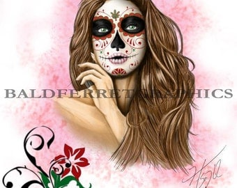 Day of the Dead Girl I