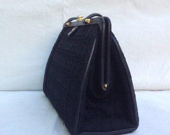 Handbag vintage 50s. Vintage bag. Handbag 50s.