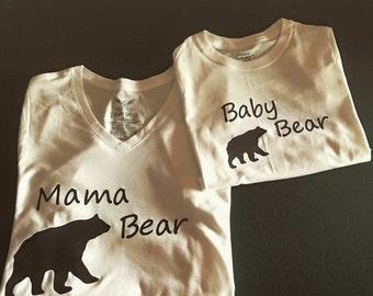 Mama bear baby bear