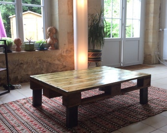 Table low pallets
