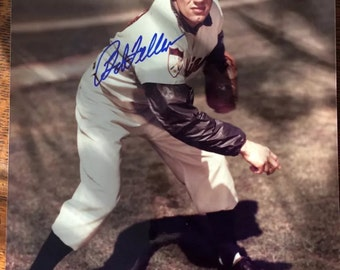 Bob Feller Autographed Picture