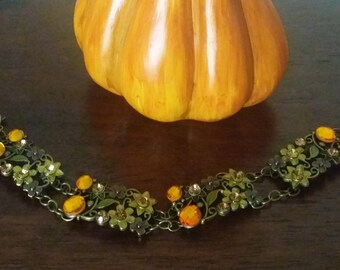 Autumn Flowers Bracelet