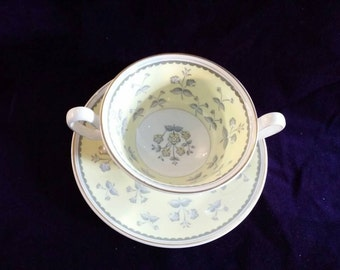 Wedgewood Soup Bowl Cup and Saucer