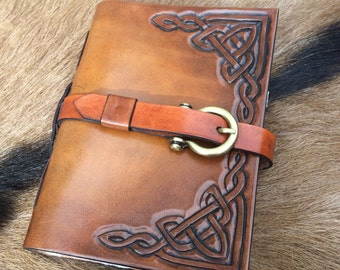 viking celtic knot grimoire / larp