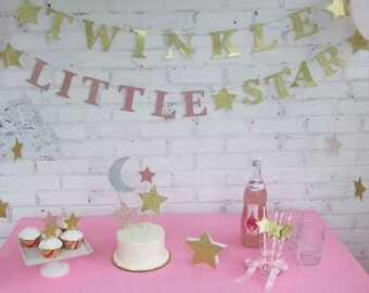 Twinkle Twinkle Little Star First Birthday Party Kit