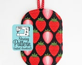 Just a Pinch Potholder PDF Sewing Pattern | Beginner Sewing Project Kitchen Potholder Pattern PDF