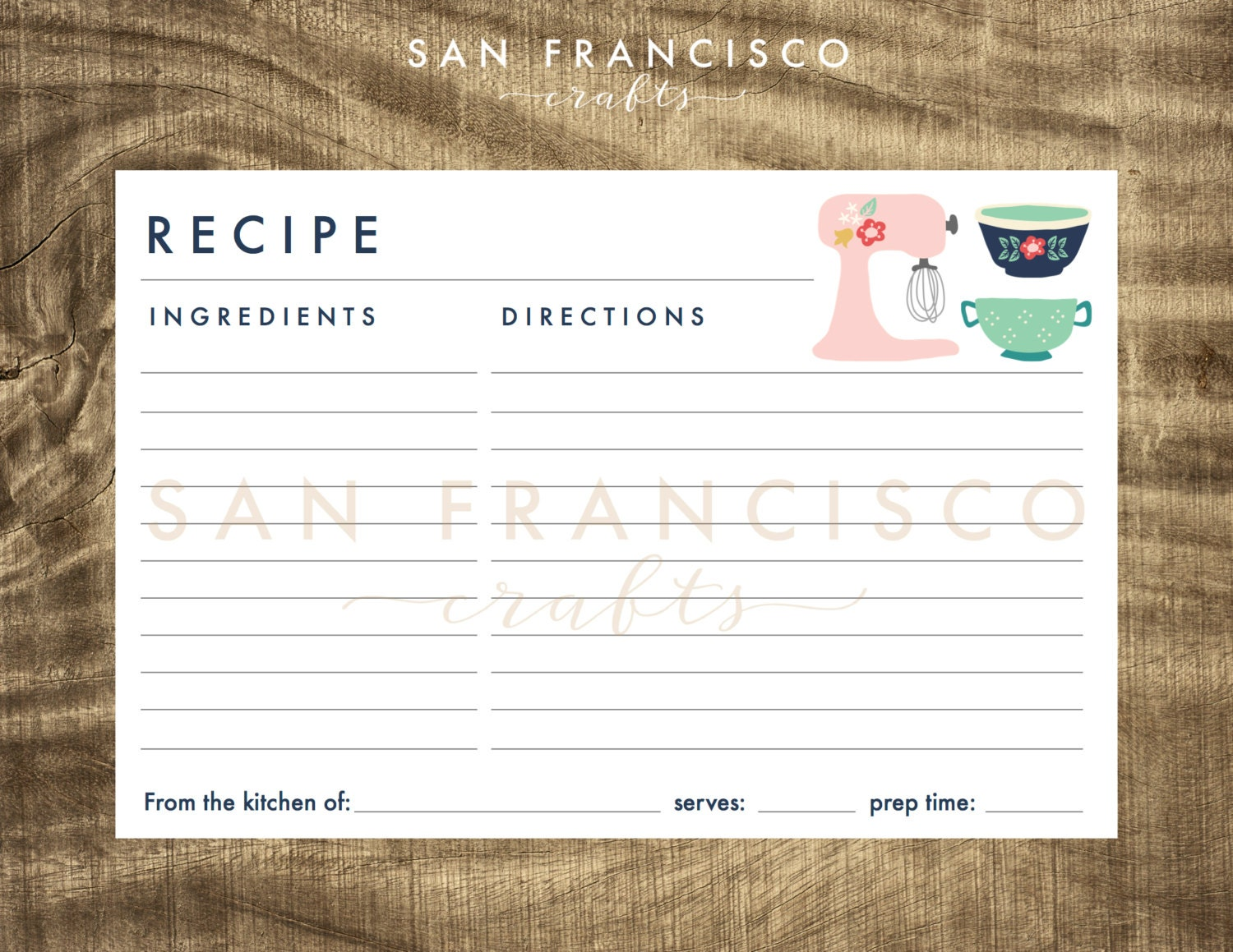 printable recipe cards and recipe box dividers 4x6 printable