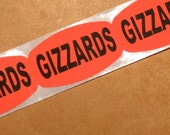 SALE, why would anybody ever need 80 gizzards stickers