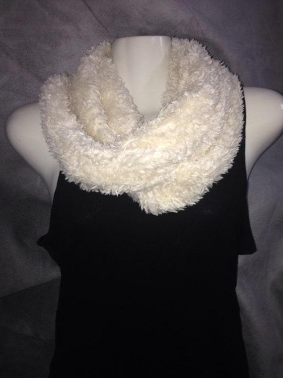 Infinity faux fur scarf