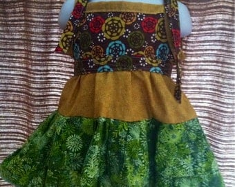Dress 12mos-3T Baby Toddler Earthy Boutique