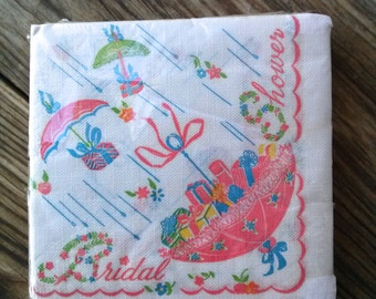 Vintage 1960s Napkins Paper Bridal Shower Retro Party Theme Pack of 32 2016188