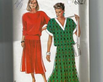 New Look Dress Pattern6827