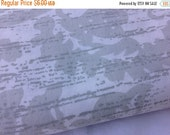 40% FLASH SALE- Grey Modern Fabric-Reclaimed Bed Linen Fabric
