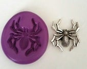 SPIDER Silicone Mold Mould 35 mm Polymer Clay Sugarpaste Fimo Resin Icing Cake Decorating