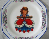 1940's Queen of Hearts Vintage Ornamental Wall or Table Display Heirloom Plate RESERVED (11)