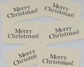 Merry Christmas Flash Card set