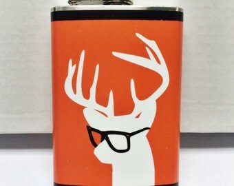 Buck the Hipster Flask - by jDUCT