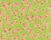 Little Ruby - Little Lady in Green: sku 55136-14 cotton quilting fabric by Bonnie and Camille for Moda Fabrics - 1 yard
