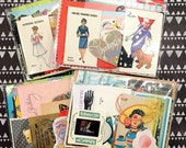 Paper Packs - ephemera, junk journals, collage and smashbook supplies!