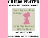 Childs Prayer - Graphghan Crochet Pattern