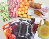 Greetings Card, Choose your Flavour, Food Photography, Blank Card Preserves, Fruit, Cookies
