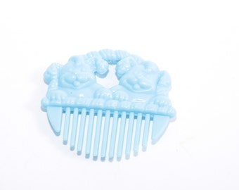 My Little Pony Blue Comb, came with My Little Puppy Pretty Poodle - Li'l Litters Comb Accessory ~ Pink Room ~ 160912