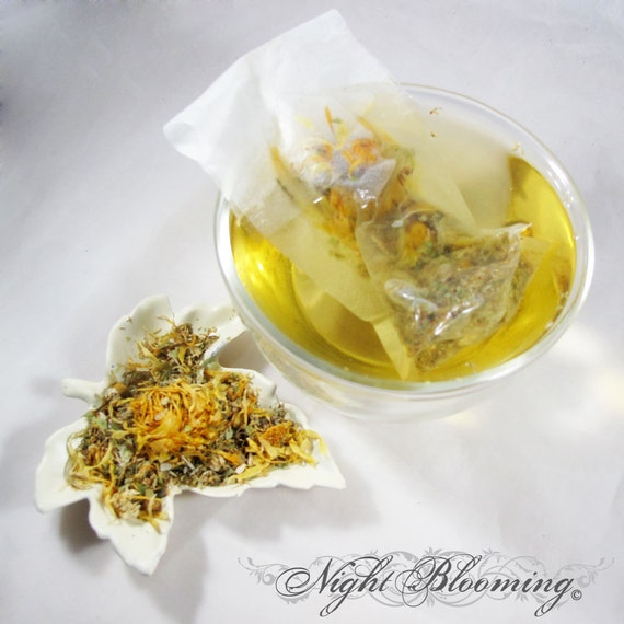 Sunlit Meadow Herbal Rinse for Light Hair Sample