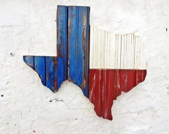 Texas Wall Art, Reclaimed Wood Decor, Rustic State Outline, Rustic Texan Decor, Recycled Wood Decor, Wood Wall Art, Wooden Texas Map