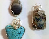 WIRE WRAPPED CABOCHON   Instructor - Christine Yingst  Sunday, September 11th, 2016