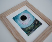 RESERVED FOR ROBERTA - Handmade Natural Wood Frame for 11x14 inch matted print